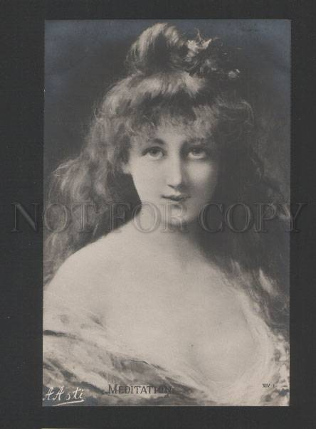 120459 Charming BELLE by Angelo ASTI vintage PHOTO PC eBay